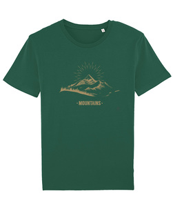T-Shirt mit Motiv / Mountains - Kultgut