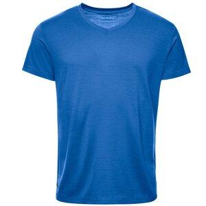 Merino Shirt Herren Kurzarm Regular V-Neck 200 - Kaipara - Merino Sportswear