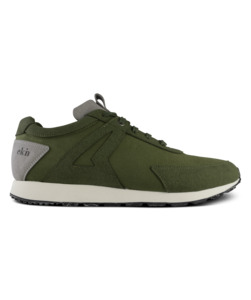 Low Seed Runner / Olive Vegan - ekn footwear