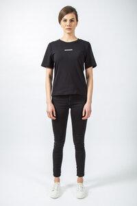 T-Shirt White Stripe // Schwarz - WIEDERBELEBT