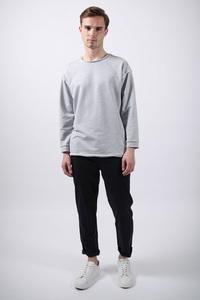Pullover // Grau - WIEDERBELEBT