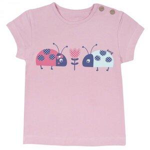 T-Shirt Marienkäfer Rosa, kbA - Kite Kids