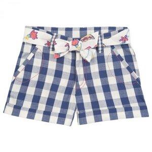 Mädchen-Shorts mit Stoffgürtel, kbA - Kite Kids