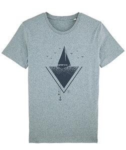 T-Shirt mit Motiv / Sailing - Kultgut