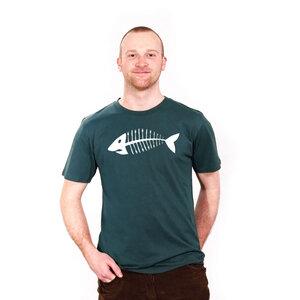 Appetit auf Fisch - Männershirt aus Biobaumwolle - Coromandel