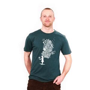 Embrace the World With Ideas - Männershirt Bio bedruckt - Coromandel