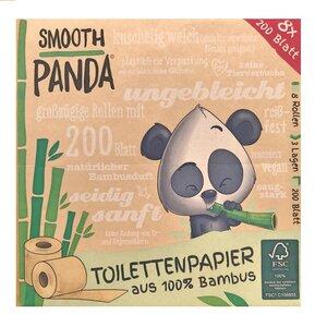 Jahresbedarf Bambus Toilettenpapier - Smooth Panda