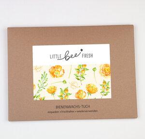 Bienenwachstuch Set L/M/S - gelb - little bee fresh