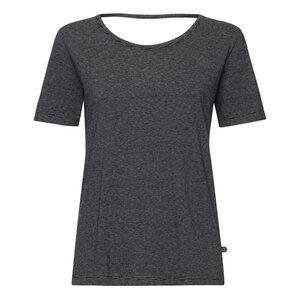 Cutout TT64 T-Shirt Damen schwarz/fein gestreift Bio & Fair - THOKKTHOKK