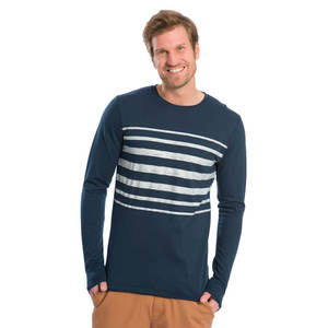 Half Stripe Sweater - bleed