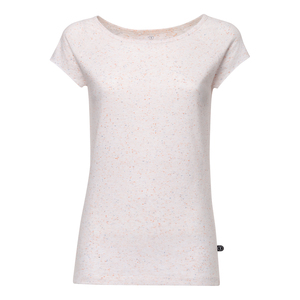 TT01 Cap Sleeve T-Shirt Damen Weiß/Confetti Bio & Fair - THOKKTHOKK