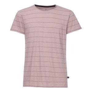 TT65 T-Shirt Herren Altrosa/Gestreift Bio & Fair - THOKKTHOKK