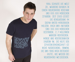 T-Shirt 'Völkermord' - Lena Schokolade