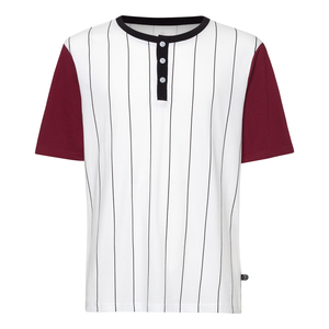 Baseball  T-Shirt Herren weiß Bio & Fair - THOKKTHOKK