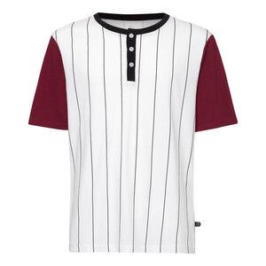 ac886095036a Baseball TT02 T-Shirt Herren weiß Bio   Fair - THOKKTHOKK