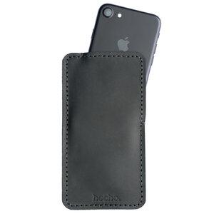 hecho. Lederhülle für iPhone 6s Plus, 7 Plus & 8 Plus (Tasche, Hülle) - hecho.