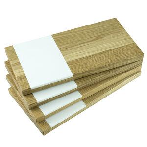 Schneidebrett 4er Set | 4 x Schneidebrett vespro - Holzbutiq