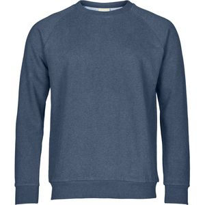 Sweat shirt melange - Insigna Blue melange - KnowledgeCotton Apparel