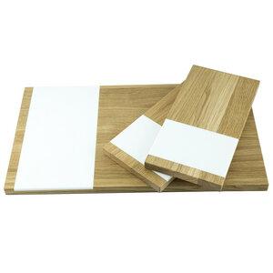 Schneidebrett 3er Set groß und klein | pano und 2 x vespro - Holzbutiq