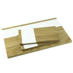 Servierbrett 3er Set | 1 x servir und 2 x vespro - Holzbutiq