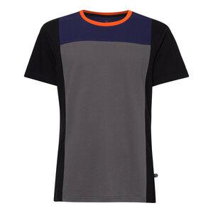 Leòn TT02 T-Shirt Herren dunkelgrau/schwarz Bio & Fair - ThokkThokk