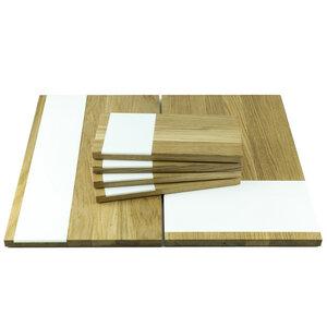 Küchenbrett 6er Set | Servierbrett, Schneidebretter aus Eiche - Holzbutiq