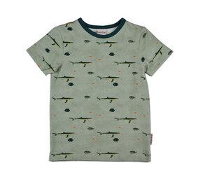 Kinder T-Shirt Fisch Biobaumwolle - Baba Babywear