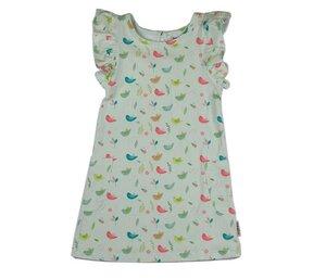 Ruffle Dress Birds - Baba Babywear