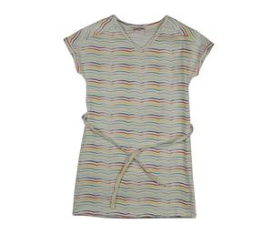 V-Neck Kids Dress Stripes - Baba Babywear