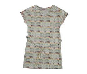 V-Neck Kids Dress Stripes - Baba Babywear