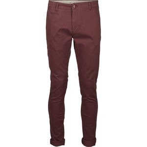 Stretch Chino Hose - Pistol Joe  - Dekadent Chokolade - KnowledgeCotton Apparel