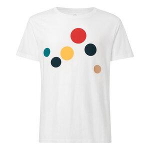 Circles T-Shirt Herren weiß Bio & Fair - THOKKTHOKK