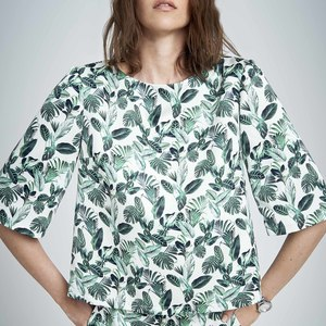 Top TRAPEZE Jungle Print - JAN N JUNE