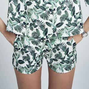 Shorts HOLLY in weiß mit Print - JAN N JUNE