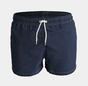 Badehose - Swim Shorts Solid - Total Eclipse - KnowledgeCotton Apparel