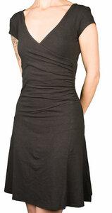 Party Dress schwarz aus Hanf - Uprise