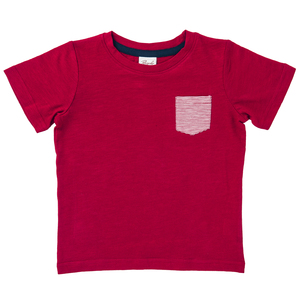 T-shirt - rot - People Wear Organic