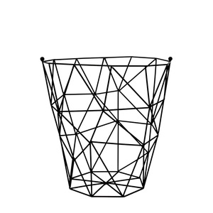 Drahtkorb Schwarz - TAK design