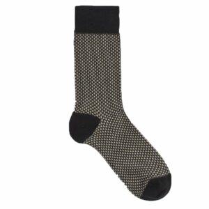 Dreieck Karo Socken Biobaumwolle - VNS Organic