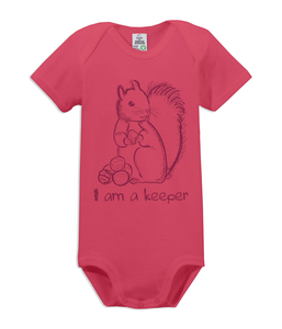 "Kurzarm Baby Body ""keeper"" - kippie"