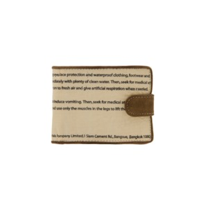 Recycling Geldbeutel Geldbörse Portemonnaie – Green Tiger Zementsack - Elephbo