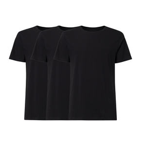 3er Pack BTD05 T-Shirt Herren Schwarz Bio & Fair - THOKKTHOKK