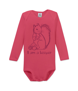 "Langarm Baby Body ""keeper"" - kippie"