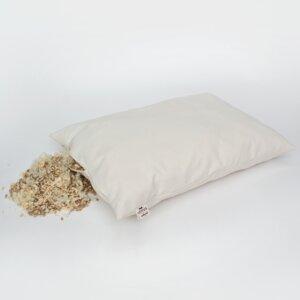 Schlafkissen Bio Zirbe-Dinkel-Schurwolle 40 x 60 cm - Lotus Natural