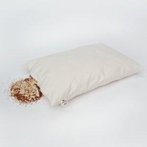 Schlafkissen Bio Zirbe-Hirse 40 x 60 cm - Lotus Natural