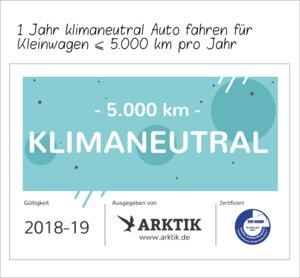 Die Klimaschutz-Vignette für Autofahrer  - ARKTIK