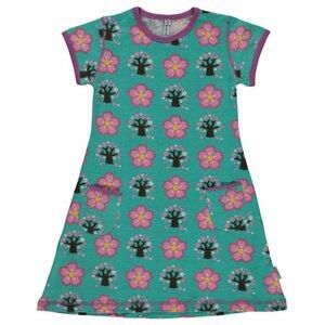 Sommer Kleid Cherry Blossom GOTS - maxomorra