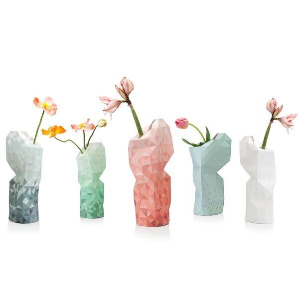 Pepe Heykoop   Paper Vase Cover   Dutch Design Papiervase   16 Varianten |  Avocadostore