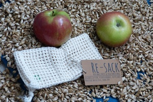 Obst und Gemüsenetz aus Biobaumwolle Re-Sack small - Re-Sack