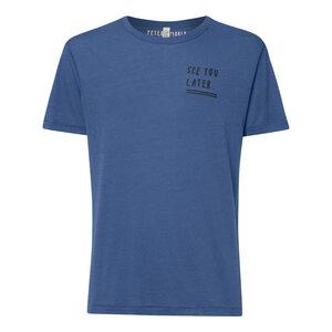Peter Phobia See You Later Tencel T-Shirt Herren Denim Bio & Fair - Peter Phobia
